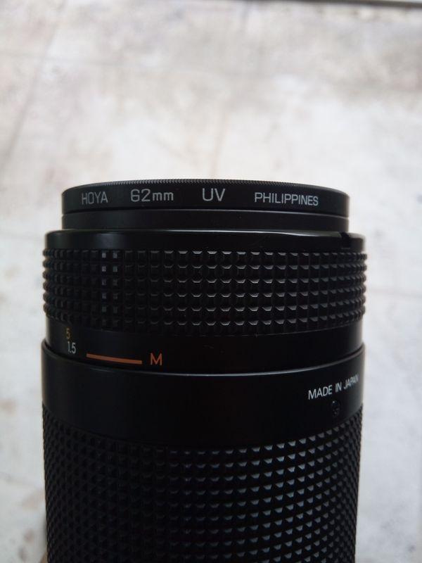 Nikon AF 70-210mm 1:4-5.6 zoom lens