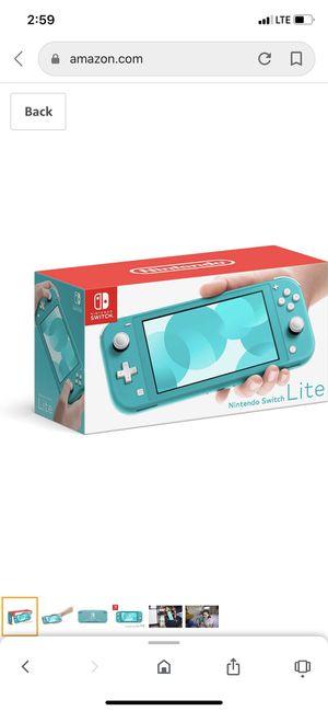 Nintendo Switch Lite with splatoon 2 for Sale in Avondale, AZ