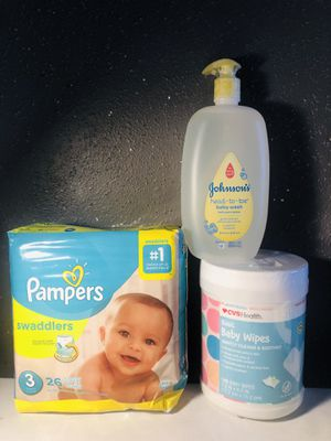 Pampers size 3 for Sale in Pasadena, TX