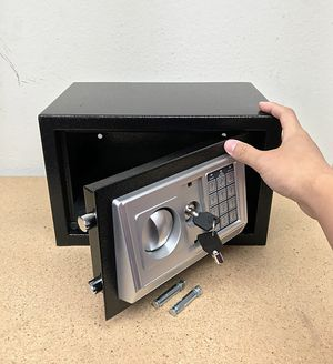 "New $35 Digital 12""x8""x8"" Security Safe Box Electric Keypad Lock Money Jewelry w/ Master Key for Sale in South El Monte, CA"