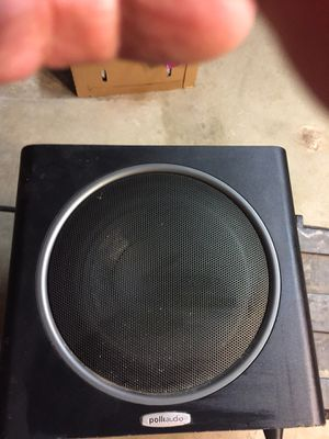 Polk audio subwoofer 10x10 model psw110 for Sale in Murrieta, CA