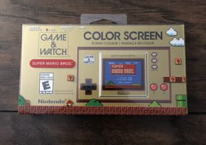 Nintendo Game and Watch Super Mario Bros Electronic Handheld BRAND NEW In Hand for Sale in Fresno, CA