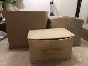 Storage boxes for Sale in Arlington, VA