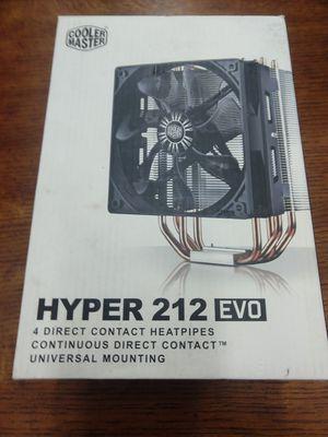 Hyper 212 Evo computer gaming fan for Sale in Las Vegas, NV