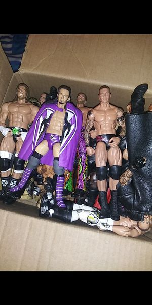Wwe 85 figures open for trades for Sale in Winter Haven, FL