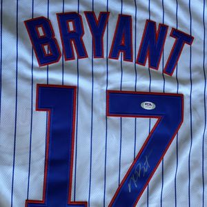 Kris Bryant Autographed Signed Jersey for Sale in Chicago, IL