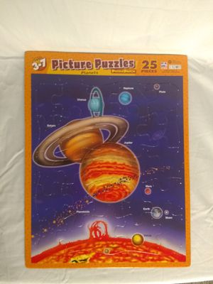 Planets Puzzle Patch Picture Frame for Sale in Sanford, NC