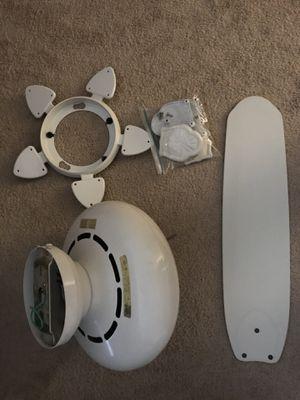 White ceiling fan for Sale in Ashburn, VA