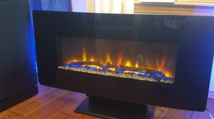 LED fireplace...backlighting, heat, no heat features for Sale in Seattle, WA