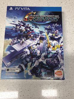 PS VITA SD Gundam G Generation Genesis (English Subs) for PlayStation VITA for Sale in Seattle,  WA