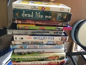 Dvds blu rays films tv series for Sale in Ashburn, VA