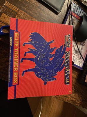 Pokemon sword and shield elite trainer box for Sale in Cudahy, CA