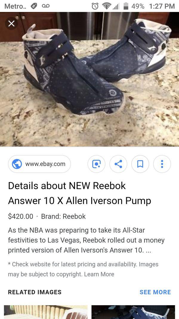 1f9b3f5d69d5 Reebok Iverson Money Talk