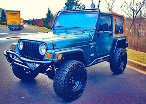 I sell urgent 2000 Jeep Wrangler TJ 💲1000 for Sale in Arlington, VA