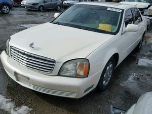 White 2002 Cadillac Deville Parting Out! Parts Only! for Sale in Rancho Cordova, CA
