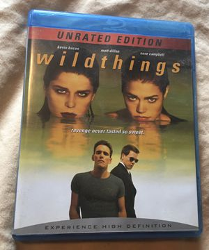 Wild Things blu-ray movie unopened for Sale in Aurora, IL