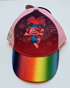 Trolls Poppy Rainbow 3D pop Child / Girl baseball Hat Cap New With Tags for Sale in UPPR BLCK EDY, PA
