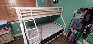 Bunk Bed twin/full for Sale in Ceres, CA