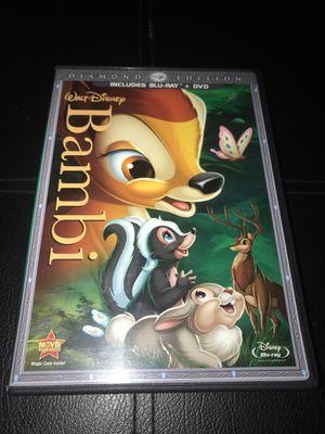 Disney's Bambi Blu-ray for Sale in Corona, CA