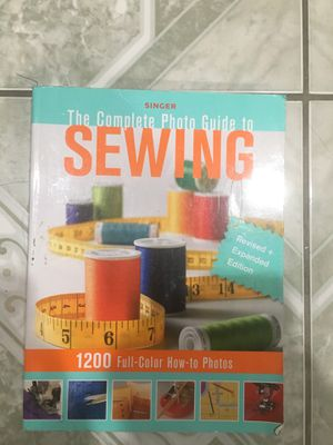 Sewing Techniques Book for Sale in Compton, CA