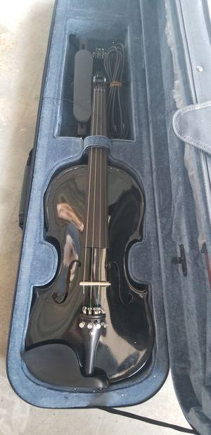Acoustic/Electic Black Violin for Sale in Carlsbad, CA