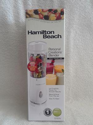 Hamilton beach white personal creations blender for Sale in Weston, FL
