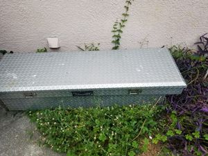 Tool box stainless steel for truck bed for Sale in Winter Haven, FL