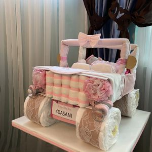 Diaper Jeep Stroller Ship Airplane Butterfly Baby Shower Centerpiece Art for Sale in Los Angeles, CA