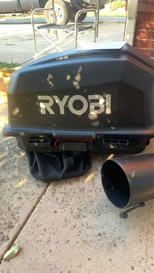 38in. Bagger for RYOBI Riding Lawn Mower for Sale in Watauga, TX