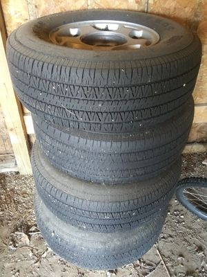 Tahoe/Suburban Tires&Wheels for Sale in Mount Morris, MI