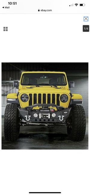 Smittybilt Gen 2 XRC Front Bumper - 77807 for Jeep jl for Sale in Tomball, TX