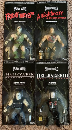 Funko Savage World Horror Action Figures for Sale in Murfreesboro, TN