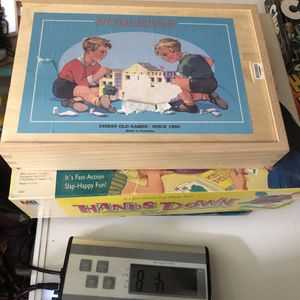 Noblesse & Hands Down vintage kids games toys for Sale in Minneapolis, MN