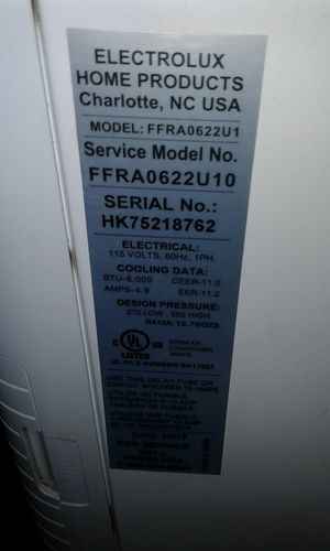 Window ac for sale for Sale in LAKE MATHEWS, CA