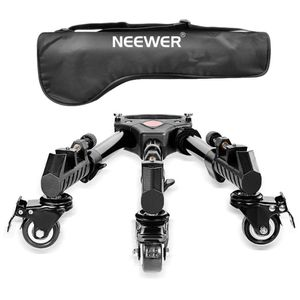 Neewer Photography Professional Heavy Duty Tripod Dolly with Rubber Wheels and Adjustable Leg Mounts for Canon Nikon Sony DSLR Cameras Camcorder Phot for Sale in Norwalk, CA