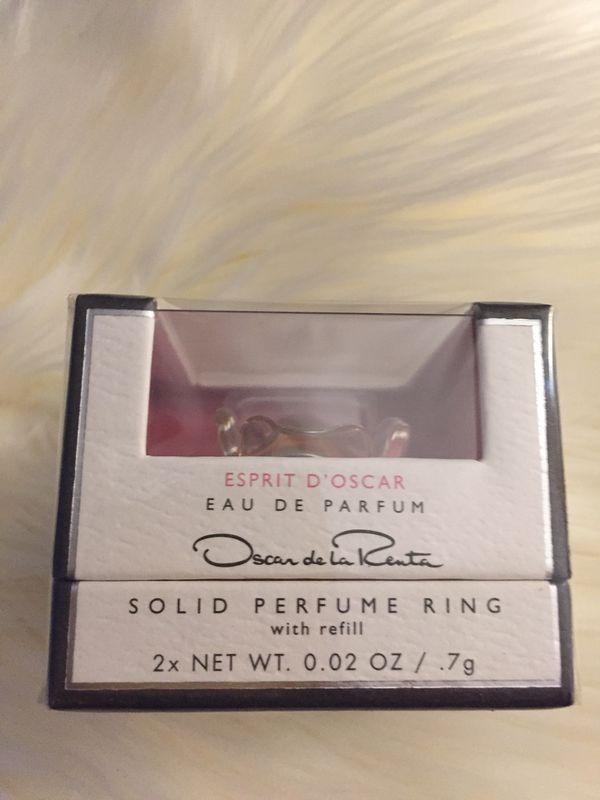 Solid Perfume Ring 0.02 oz 7 g Oscar de la Renta