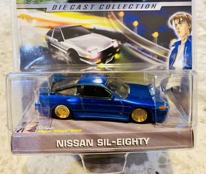 Initial D : Nissan Sil - Eighty | 1:64 Scale Diecast Collection | Jada Toys for Sale in Seattle, WA