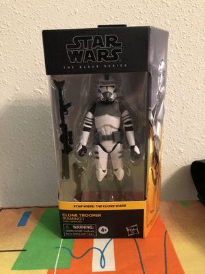 Star Wars Black Series Kamino Clone Trooper for Sale in Atascocita, TX