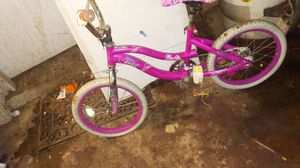 "Little girls first bike no training wheels priced affordable holiday special girly bicycle 14"" for Sale in Tolleson, AZ"