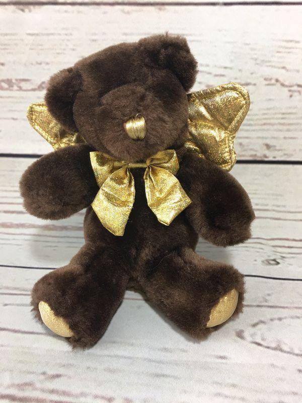 Stuffed angel bear