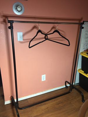 Clothing Rack, Rolling, adjusting Height for Sale in Seattle, WA