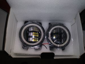 Brand new in box jeep halo lights with brand new fog lights for Sale in Oklahoma City, OK