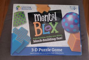 Mental blox 3D puzzle game for Sale in Chicago, IL