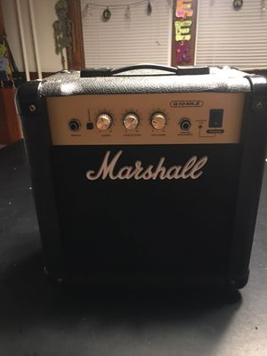 Marshall G10 mk2 amp for Sale in Freeland, PA