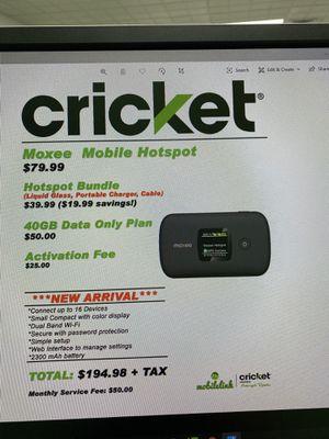 Moxee mobile hotspot for Sale in Bridgeville, DE