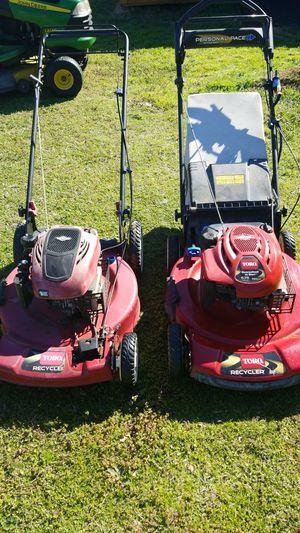 Toro lawn mowers for Sale in Aledo, TX