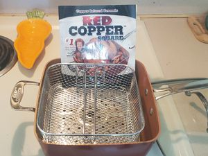 Red Copper square pot. for Sale in Lynnwood, WA