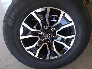 2020 toyota tacoma 17 new rims and tires for Sale in Jurupa Valley, CA