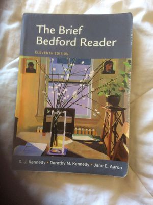 English 1 -the brief Bedford reader for Sale in Los Angeles, CA