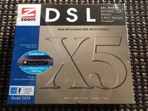 Zoom DSL/ADSL X5 Model 5654 NEW for Sale in Bothell, WA